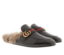 Princetown Slipper Fur Cocoa Brown Schuhe