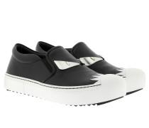 Slipper Black / White Sneakers