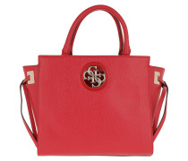 Open Road Society Satchel Cny Red Tote