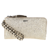 Terenz Leather Wallet Handstrap SM White / White Pochette