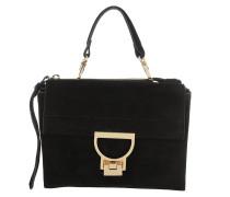 Arlettis Suede Crossbody Bag Noir Tasche