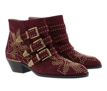Susanna Boots Suede Absolute Red Schuhe