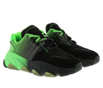 Sneakers Extasy Nubuck Sneaker Combo A Black/Degrade Green