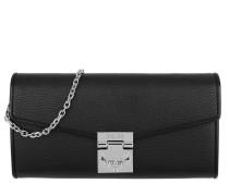 Patricia Park Avenue Flap Wallet Two-Fold Large Black