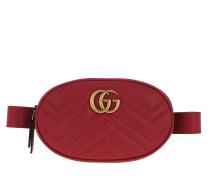 Gürteltasche GG Marmont Belt Bag Rosso rot
