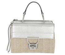 Arlettis Shoulder Bag Metal Straw Silver/Silver Tasche