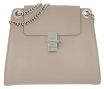 Tote Annie Shoulder Bag Leather Motty Grey grau