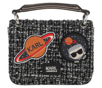 K/Space Tweed Shoulderbag Black Tasche