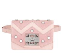 Sylvie Mirror Crossbody Bag Pink Tasche
