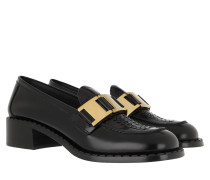 Schuhe Moccasin Leather Black