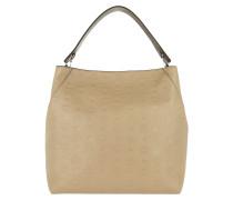 Klara Monogrammed Hobo Bag Large