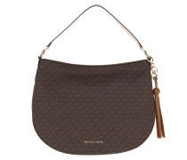Hobo Bag Brooke Large Zip Hobo Bag Brown/Acorn braun