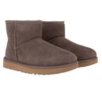 Boots W Classic Mini II Mole braun