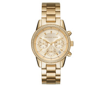 Ladies Ritz Watch -Tone Armbanduhr