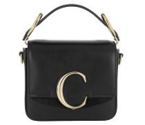 Umhängetasche C Bag Mini Leather Black schwarz