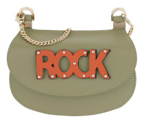 Rock Crossbody Bag Small Daily Green Tasche