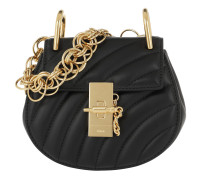 Drew Bijou Nano Leather Black Tasche