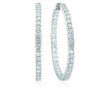 Ohrringe Bovalino Earrings White Zirconia 925 Sterling Silver