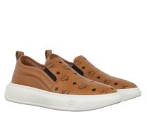 Sneakers W Visetos Slip On Cognac cognac