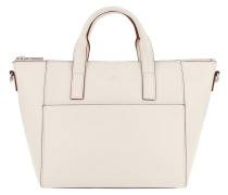 Grano Colorblocking Helena Handbag Offwhite Tote