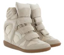 Bekett Sneakers Suede Ecru
