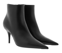 Boots Ankle Boots 85 Leather Black schwarz