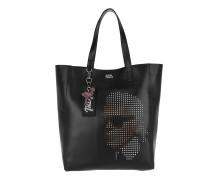 Yoni Alter Perforated Shopper Black Shopper