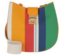 Patricia Canvas Hobo Medium Rainbow Yellow Bag