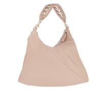 Carlie Handbag M Sand Hobo Bag