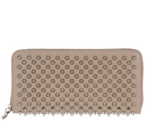 Panettone Zipped Continental Wallet Cashmere/Silver