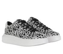 Sneakers Kapri Graffiti Lo Lace Sneaker Black White