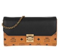 Millie Leather Block Crossbody Medium Black Tasche