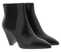Lashby Ankle Boots Leather Black Schuhe