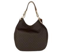 Fulton Large Shoulder Bag Tote Brown