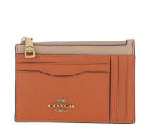 Portemonnaie Colorblock Large Flat Card Case Taupe Ginger Multi