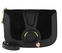Umhängetasche Hana Crossbody Bag Leather Black schwarz