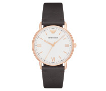 Uhr AR11011 Mens Kappa Watch Brown/Rosegold