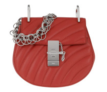 Drew Bijou Bag Leather Earthy Red Tasche