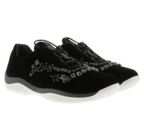 X Sneakers Bijou Nylon Black Sneakers