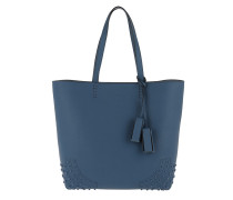 Satchel Wave New Tote Soft Gommini Jeans Scuro Shopper