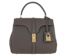Umhängetasche 16 Bag Small Grained Leather Grey