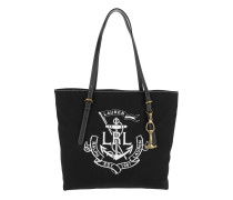 Seabrook Tote Canvas Black/White Shopper