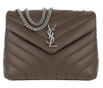 LouLou S Shoulder Bag Quilted Leather Faggio Tasche