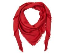 Scarf GG Jacquard Red Schal