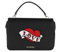 Love Shoulder Bag Black Tasche