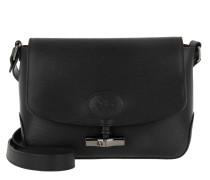 Umhängetasche Roseau Messenger Bag Black schwarz