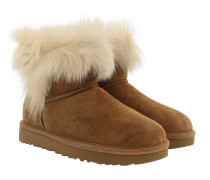 W Milla Classic Boot Chestnut Schuhe braun