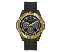 Uhr Men Quartz Watch Bolt Black