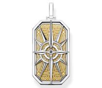 Halskette Pendant Compass Star Gold