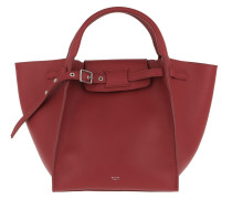 Small Big Bag Smooth Calfskin Red Tote